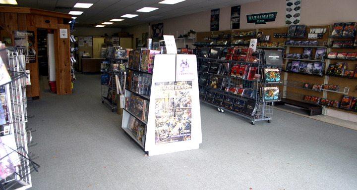 Bookery Fantasy Gaming Showroom