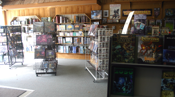 Bookery Fantasy's Gaming Showroom